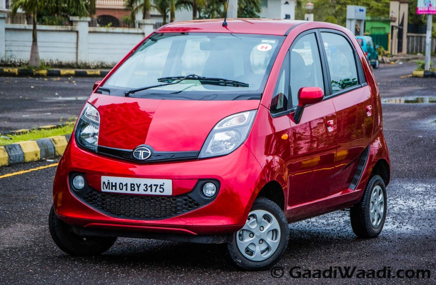 2015 Tata Nano Genx Test Drive Review Amt