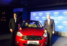 2015 Ford Figo Aspire launched in India