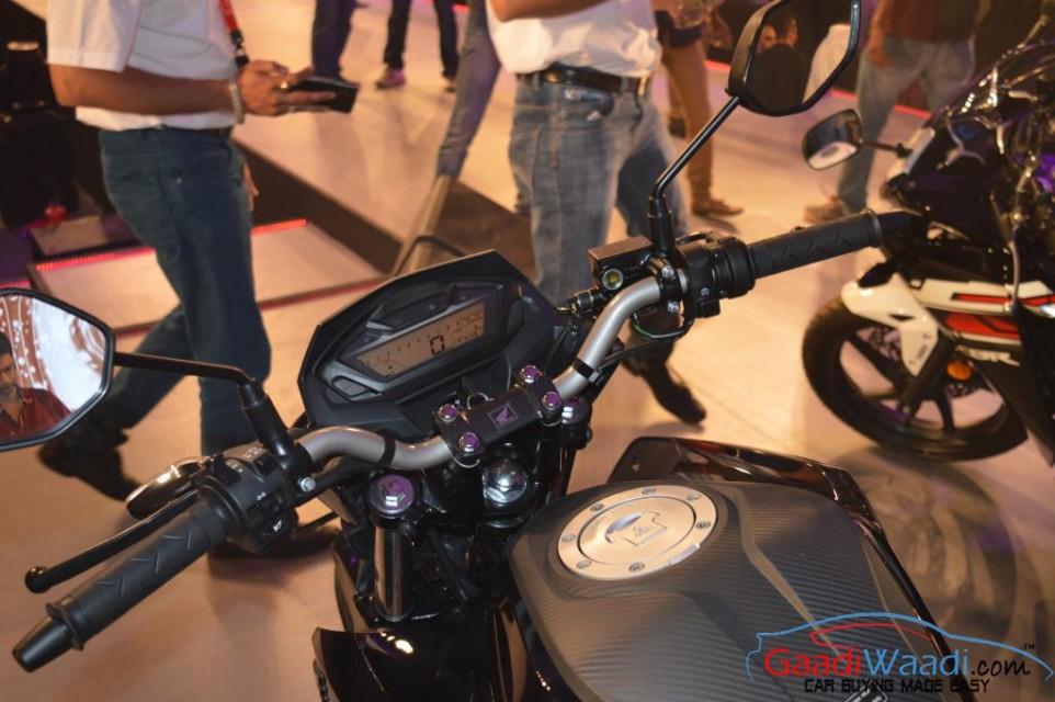 2015 Honda CB 160R Hornet cluster