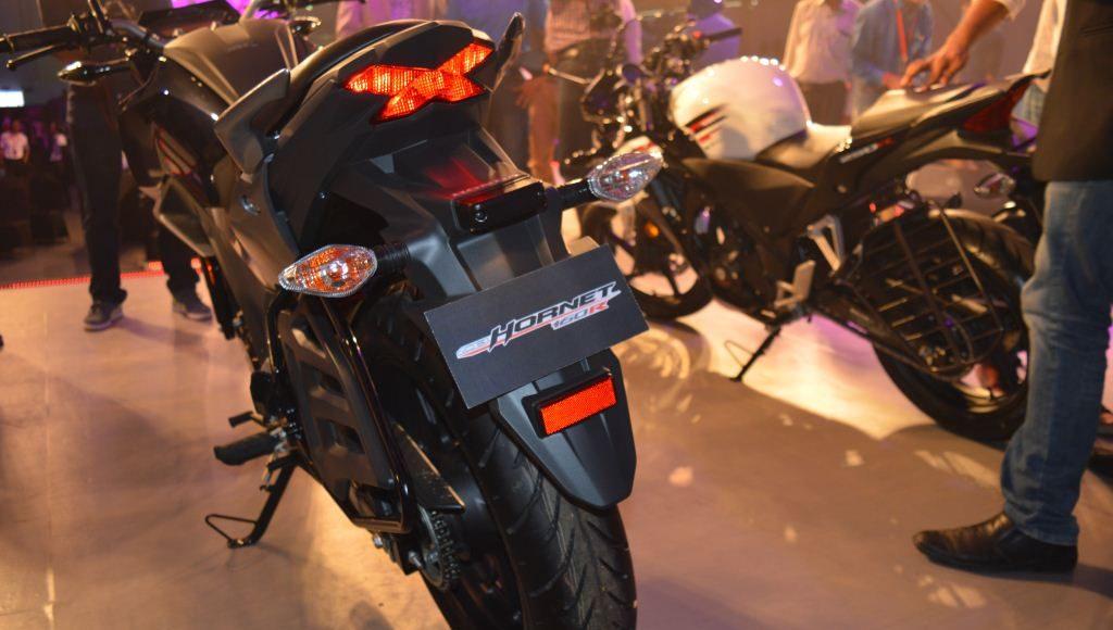 2015 Honda CB 160R Hornet rear