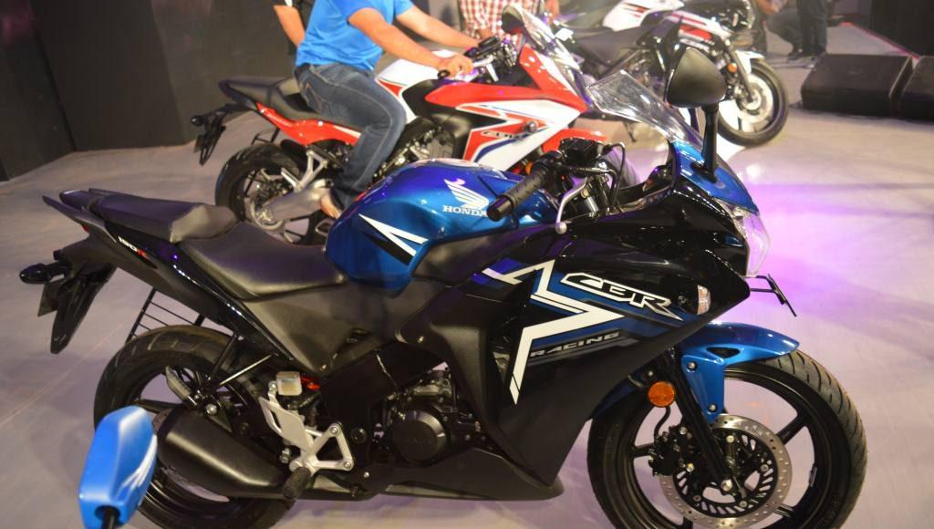 2015 Honda CBR 150R India stickers