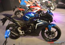 2015 Honda CBR 150R India stickers