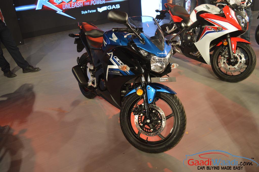 2015 Honda CBR 150R colors