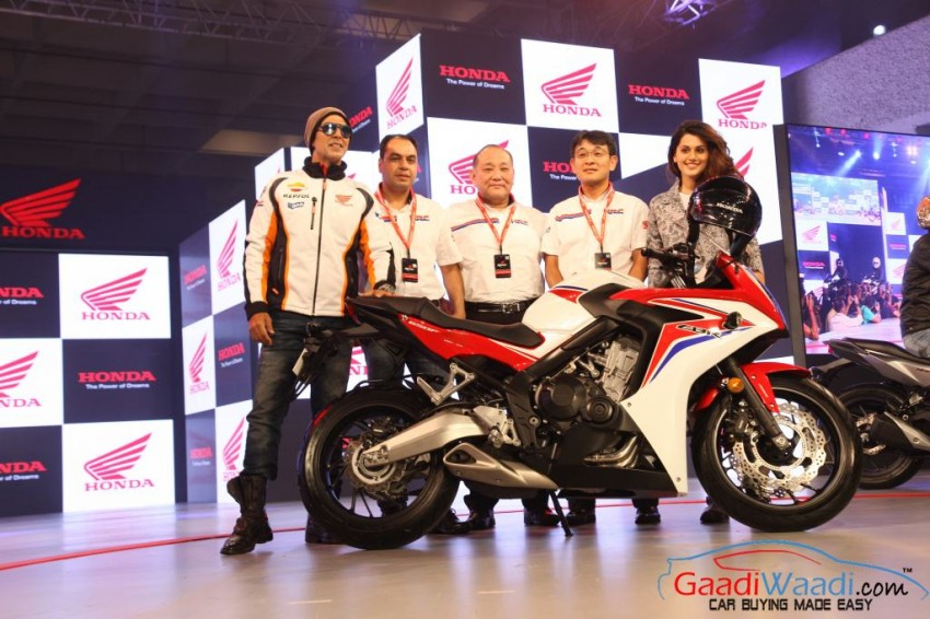 2015 Honda CBR650F akshay kumar