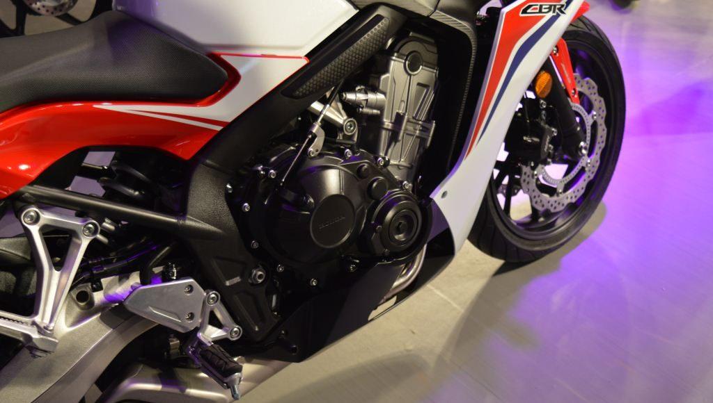 2015 Honda CBR650F inline four