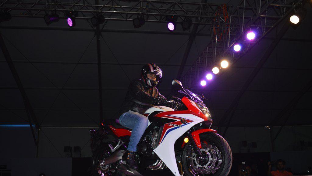 2015 Honda CBR650F revfest