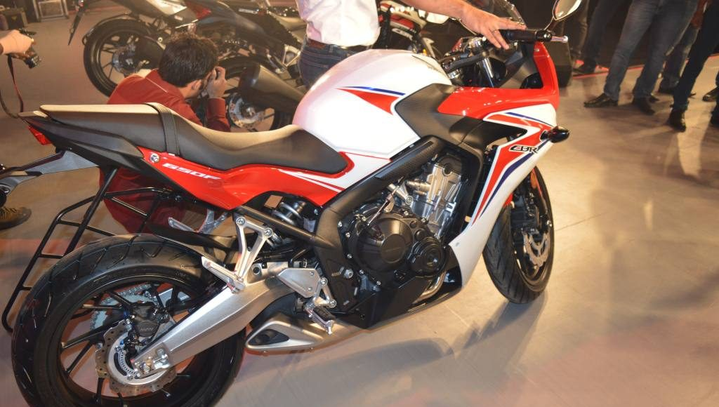 2015 Honda CBR650F revfest delhi