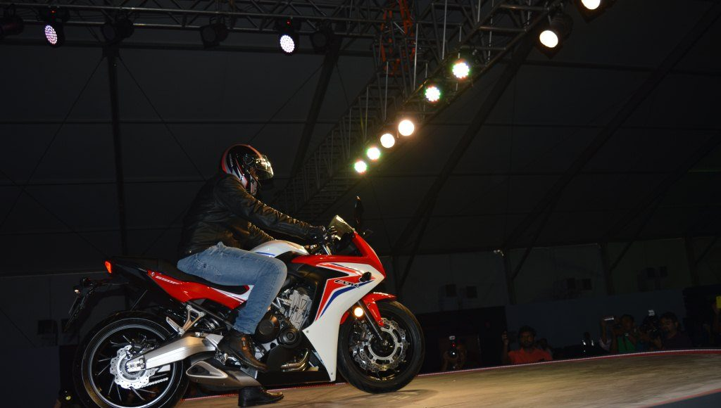 2015 Honda CBR650F side
