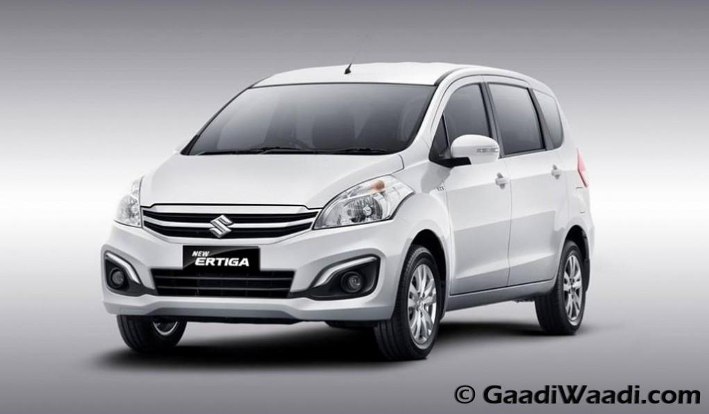 2015 Maruti Suzuki Ertiga facelift official images-1