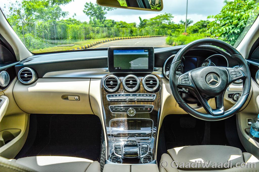 2015 mercedes benz c class test drive review for Mercedes benz c class 2015 interior