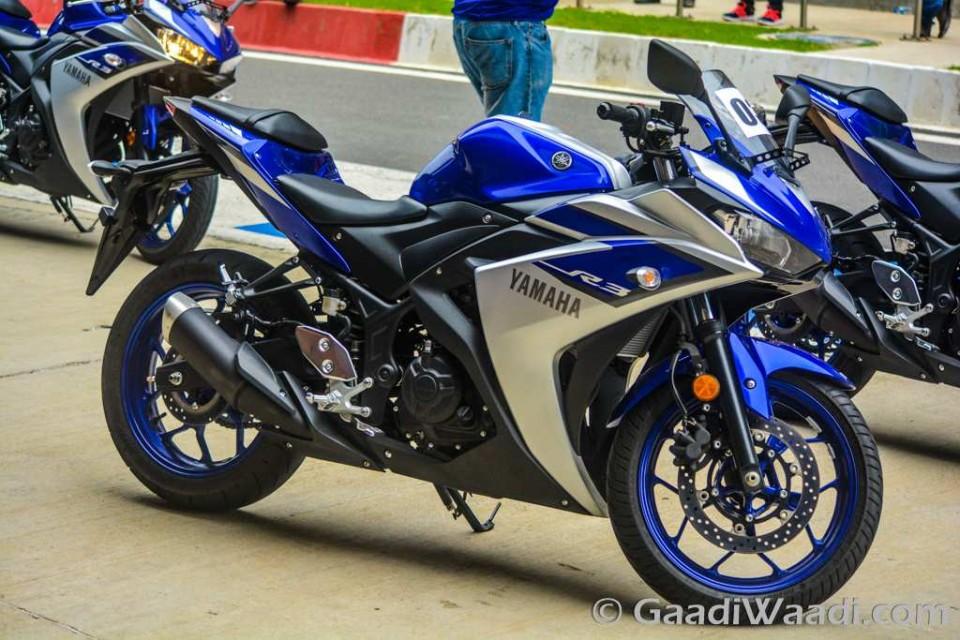 2015 Yamaha YZF-R3 test ride