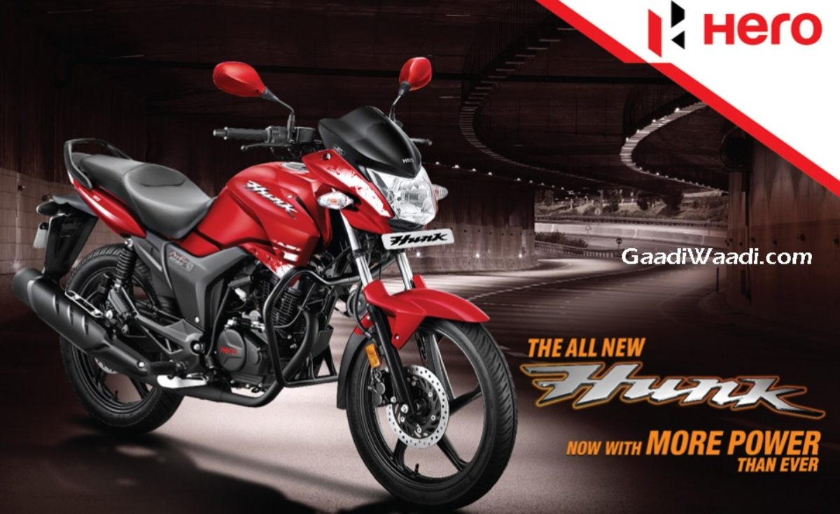 2017 Hero Hunk Bs4 Launched Price Engine Specs Images