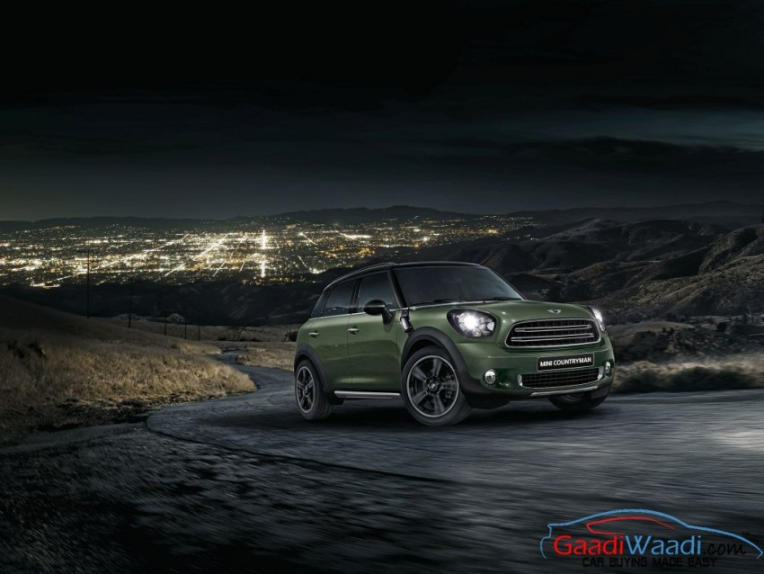 mini countryman launched in india priced at rs 36 5 lakhs new prices annouced. Black Bedroom Furniture Sets. Home Design Ideas