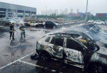 China Port blast 2