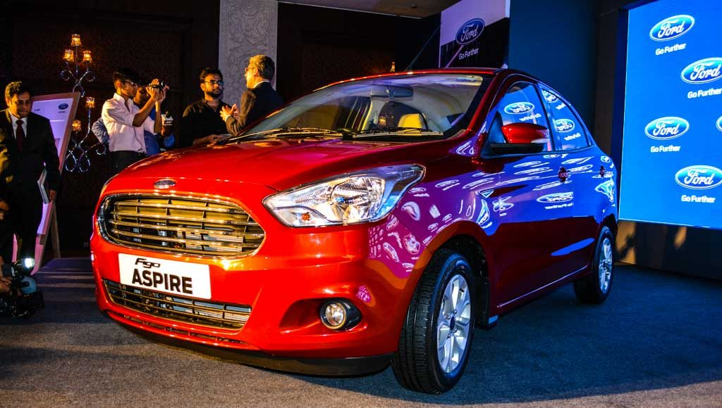 Ford Figo Aspire launched in India-10
