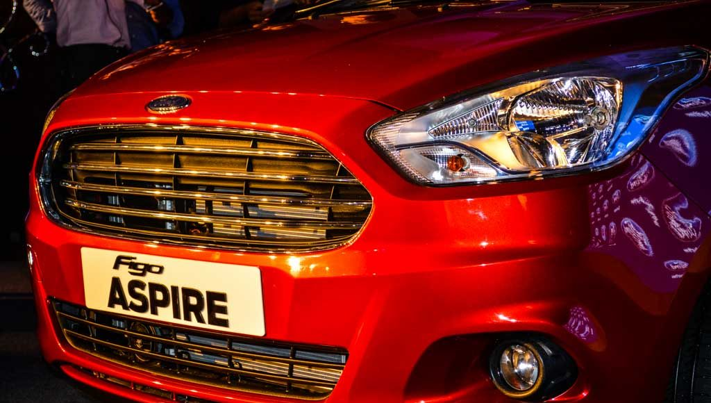 Ford Figo Aspire launched in India-6