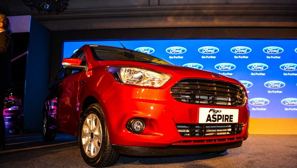 Ford Figo Aspire launched in India-15