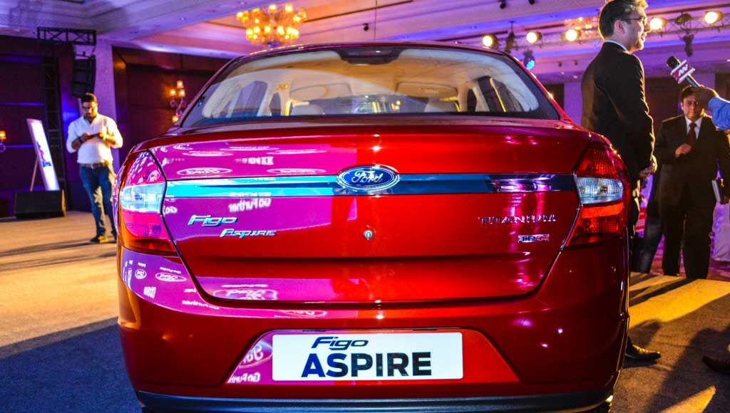 Ford Figo Aspire launched in India-23