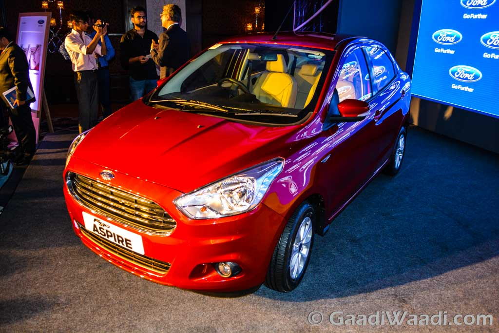 Ford Figo Aspire launched in India-9