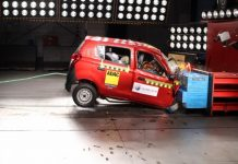 Global NCAP Maruti Alto 800 crash test