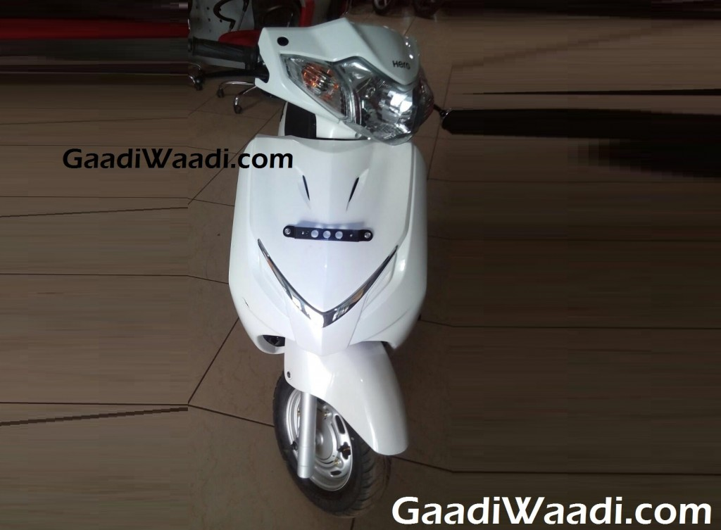 Hero Duet 110cc front view