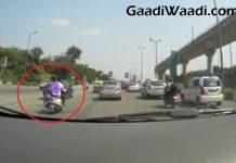 Hit and Run in delhi
