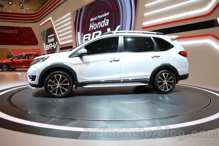 Budget Truck Sales >> Honda BRV White side view - Gaadiwaadi.com