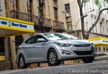 Hyundai Elantra Facelift Test Ride Review