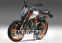 KTM Duke 800 rendering images