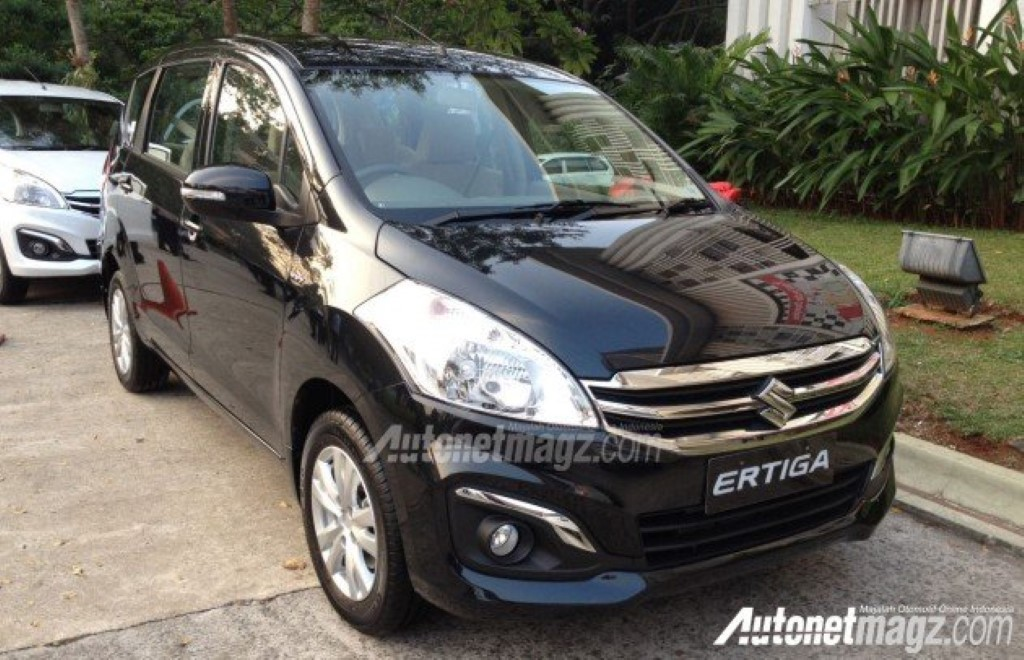 Maruti Suzuki Ertiga Facelift Caught Undisguised In Indonesia