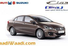 Maruti Suzuki Ciaz Hybrid Ciaz SHVS