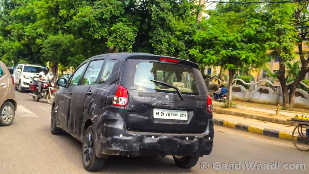 Maruti Suzuki Ertiga 2015 spied testing-6