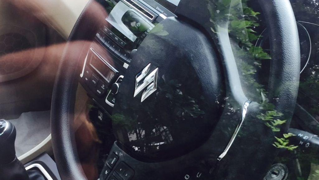 Maruti Suzuki SHVS Hybrid Ciaz steering