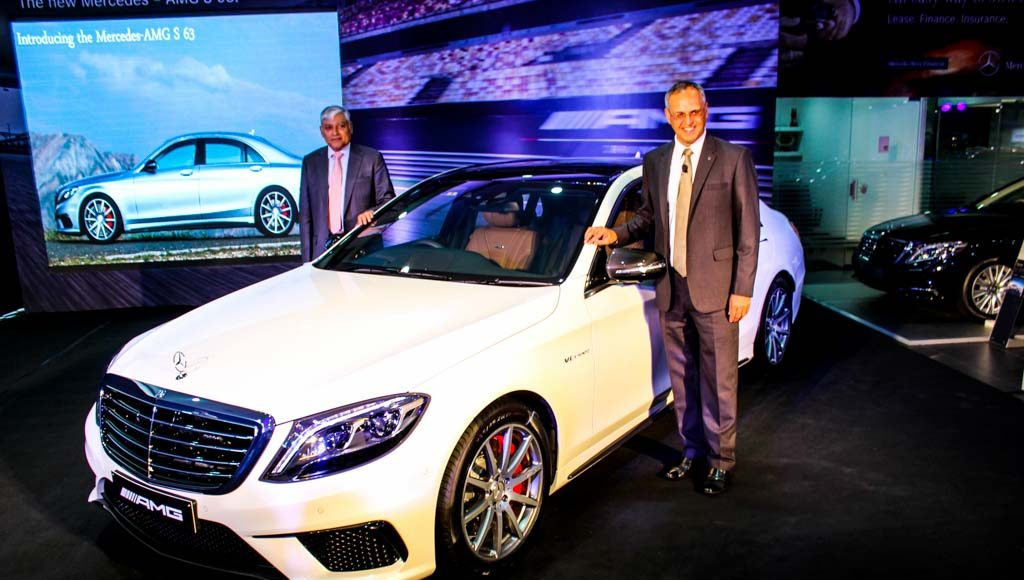 Mercedes-Benz S63 AMG Saloon launched-1