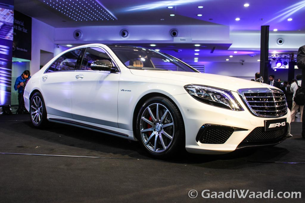 Mercedes Benz S63 Amg Saloon Launched In India At Rs 2 53