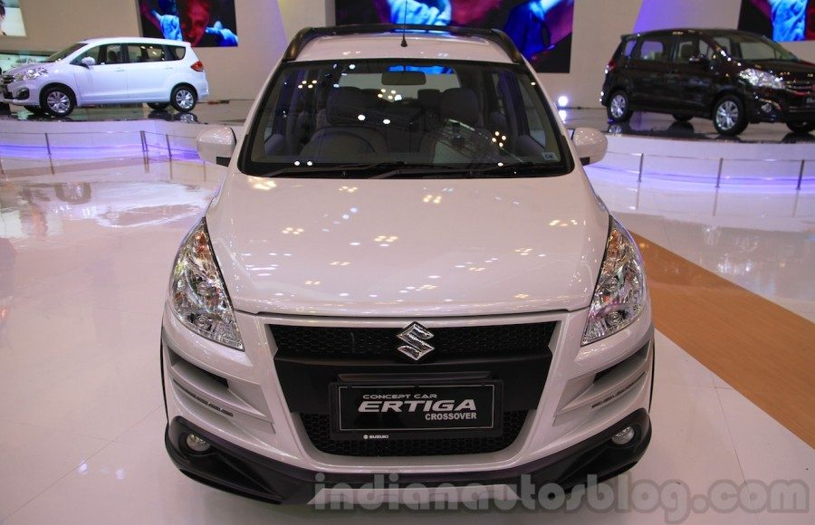 Suzuki Ertiga Crossover concept showcased at GIIAS 2015, front view