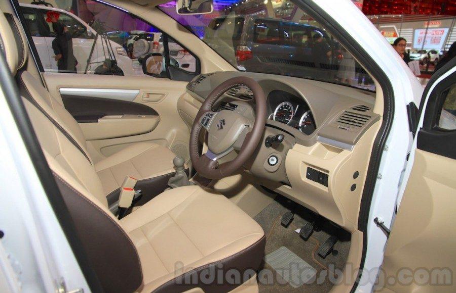 Suzuki Ertiga Crossover concept showcased at GIIAS 2015 interior