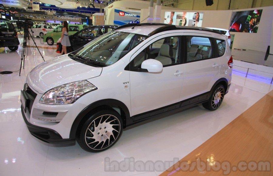 Suzuki Ertiga Crossover concept showcased at GIIAS 2015 quarter view