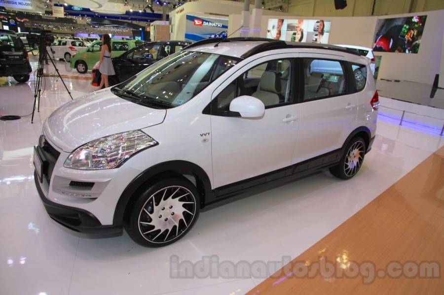 2018 suzuki ertiga.  ertiga suzuki ertiga crossover concept showcased at giias 2015 quarter view on 2018 suzuki ertiga c