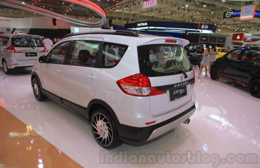 Suzuki Ertiga Crossover concept showcased at GIIAS 2015 rear quarter