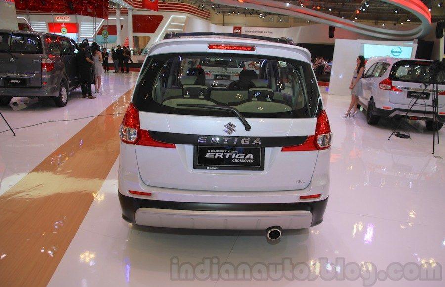 Suzuki Ertiga Crossover concept showcased at GIIAS 2015 rear view