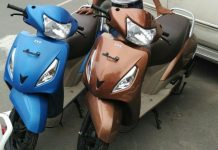 TVS Jupiter ZX launched in 2 new colours