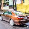 Toyota Camry Hybrid handling