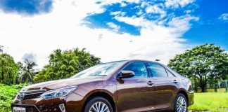 Toyota Camry Hybrid side