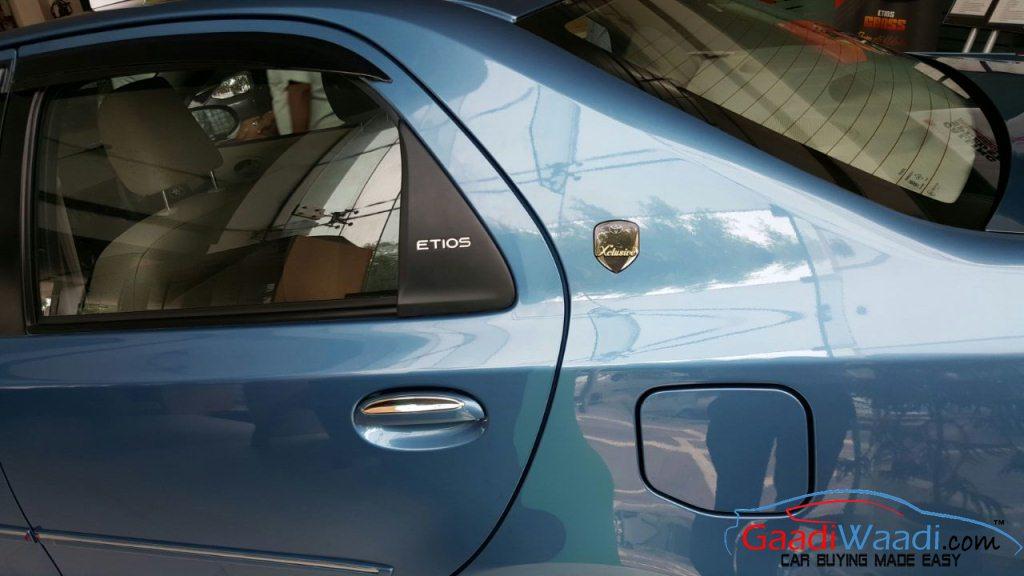 Toyota Etios Xclusive signature