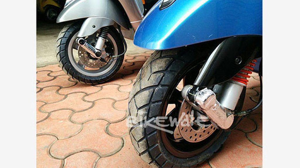 Vespa SXL Wheels tyres