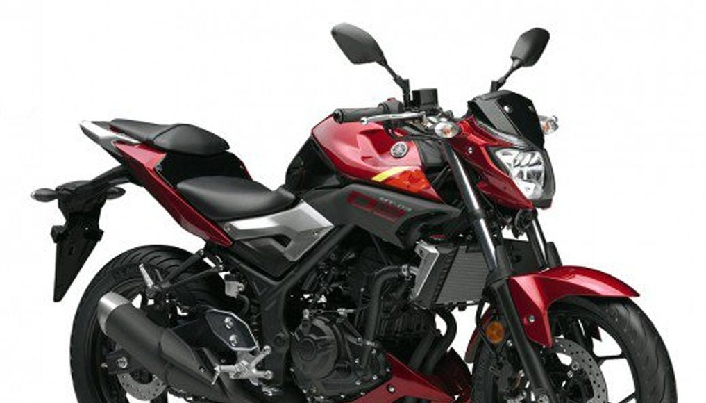 Yamaha MT 03 red front