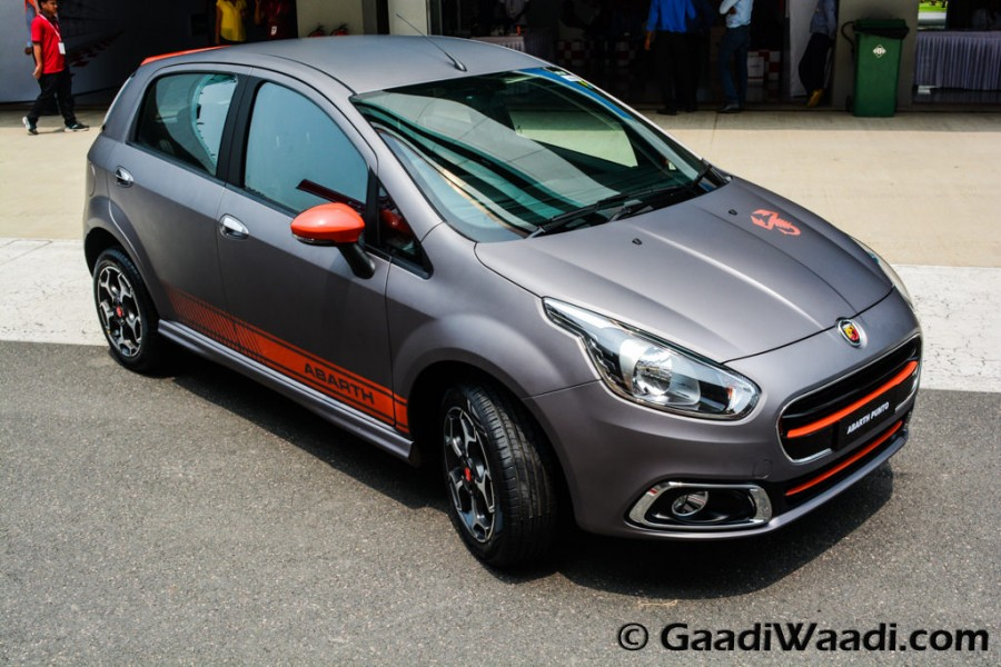 Fiat Abarth Punto Unveiled In India Makes An Insane 145 Bhp