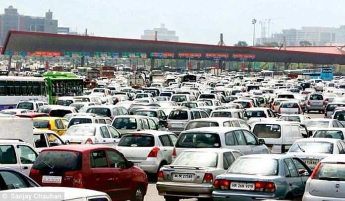 traffic toll booth india BS-VI Emission Norms