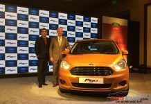 2015 Ford Figo India hatcback launched